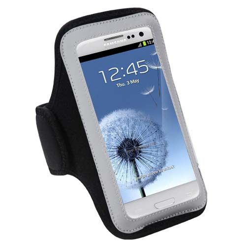Black Sport Armband for Motorola Moto G6