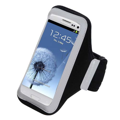 Black Sport Armband for Samsung Galaxy S10