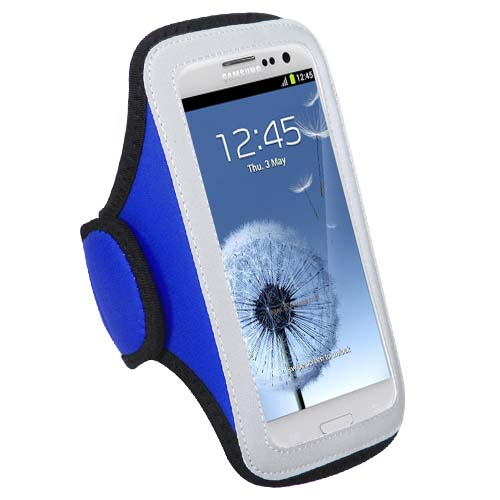Blue Sport Armband for Samsung Galaxy S8