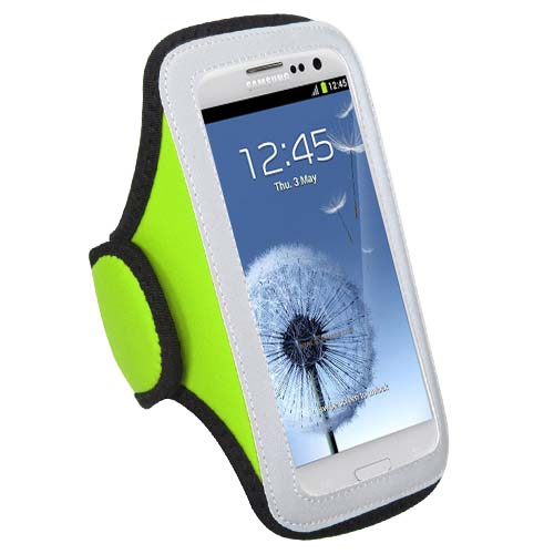 Green Sport Armband for Samsung Galaxy S8