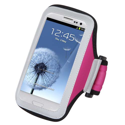Pink Sport Armband for Samsung Galaxy S10
