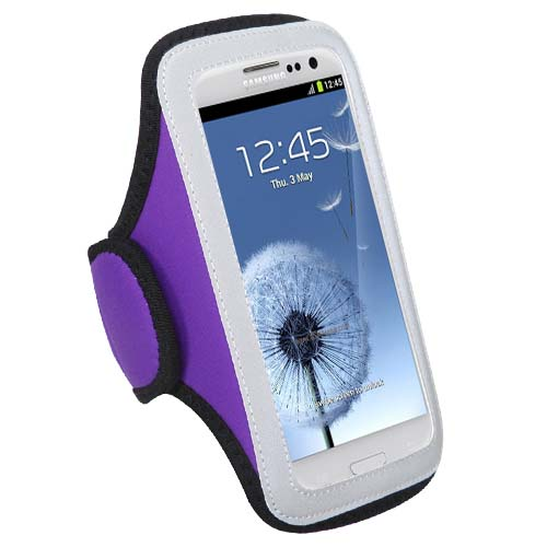 Purple Sport Armband for Samsung Galaxy S8