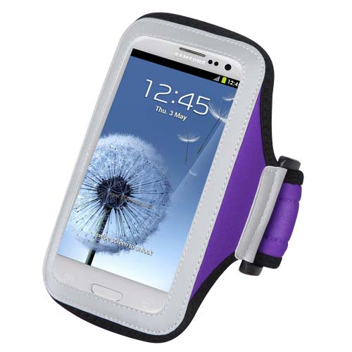 Purple Sport Armband for Samsung Galaxy J3 (2018)