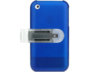 Snap On Faceplate Case w/ Screen Cover for Apple iPhone (Blue)
