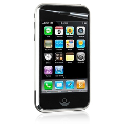 Apple iPhone 3G Anti-Glare HD Reflective Mirror Screen Protector