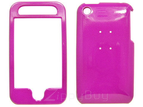 Apple iPhone 3G Hard Cover Case - Hot Pink