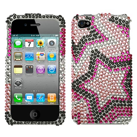 Superstar Crystal Rhinestones Bling Case for Apple iPhone 4