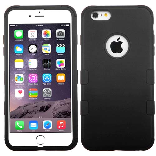 Black Synergy Hybrid Case for Apple iPhone 6S Plus