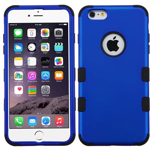 Blue Synergy Hybrid Case for Apple iPhone 6S Plus