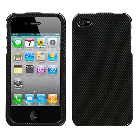 Carbon Fiber Hard Case for Apple iPhone 4S