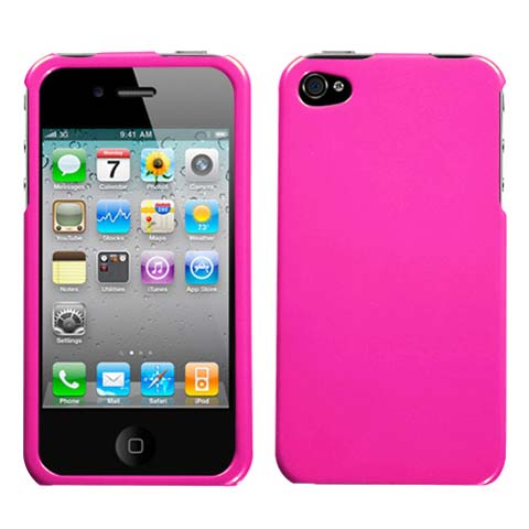 Pink Hard Case for Apple iPhone 4S