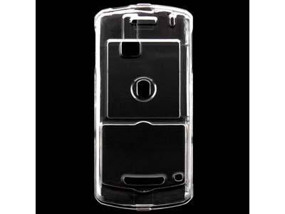 Blackberry Pearl 8100  Snap On Faceplate Case (Clear)