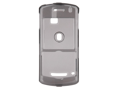 Blackberry Pearl 8100  Snap On Faceplate Case (Smoke)