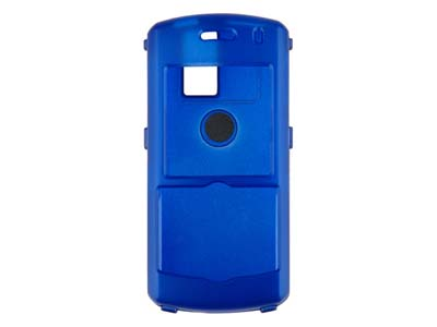 Blackberry Pearl 8100  Rubberized Snap On Faceplate Case (Blue)