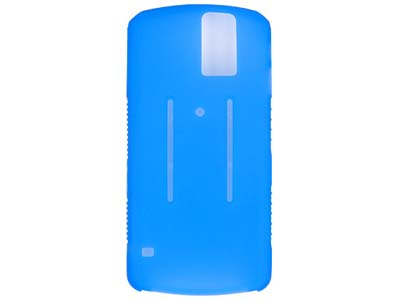 Blackberry Pearl 8100  Silicone Skin Case (Blue)