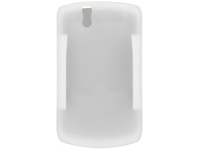 Blackberry Curve 8330 Silicone Skin Cover Case - Frost White