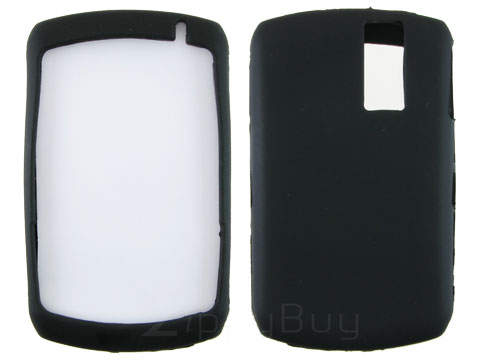 Blackberry Curve 8330 Silicone Skin Cover Case - Black