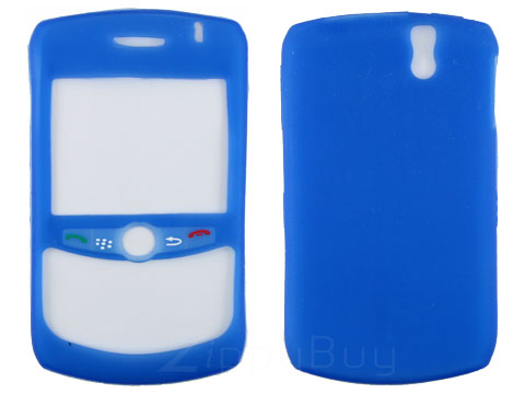 Blackberry Curve 8330 Silicone Skin Cover Case - Blue