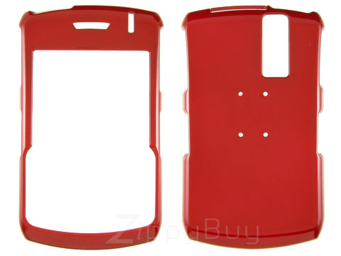 Blackberry Curve 8330 Hard Cover Case - Red