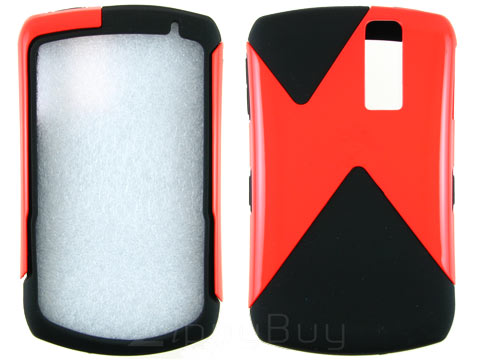 Blackberry Curve 8330 Hybrid Slash Skin and Shell - Orange