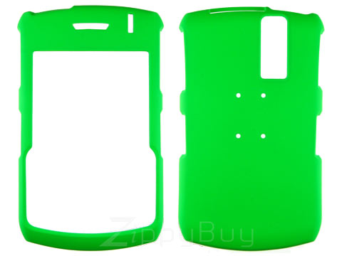 Blackberry Curve 8330 Rubberized Hard Cover Case - Green