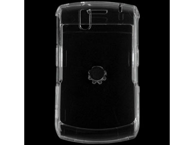 Blackberry Curve 8330 Snap On Faceplate Case (Clear)