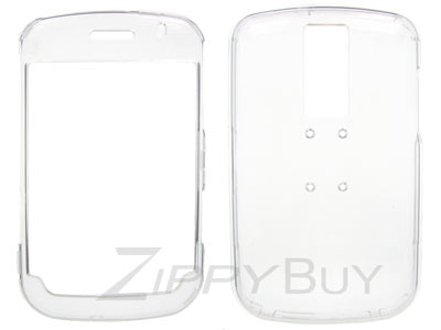 Blackberry Bold 9000 Hard Cover Case - Clear