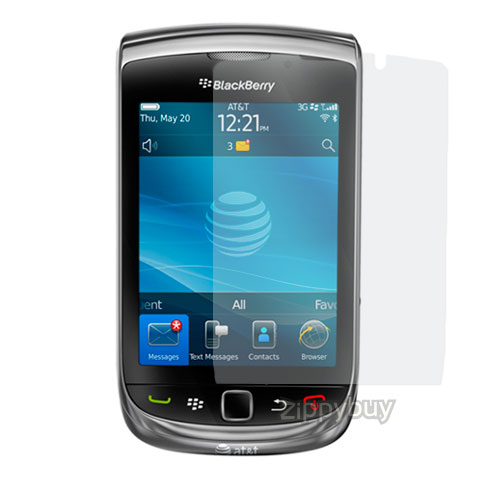2x Multi-Pack Crystal Clear Screen Protectors for Blackberry Torch