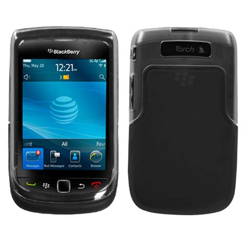 Black And Frost TPU Case for Blackberry Torch