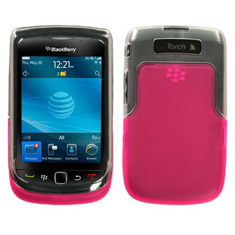 Pink And Frost TPU Case for Blackberry Torch