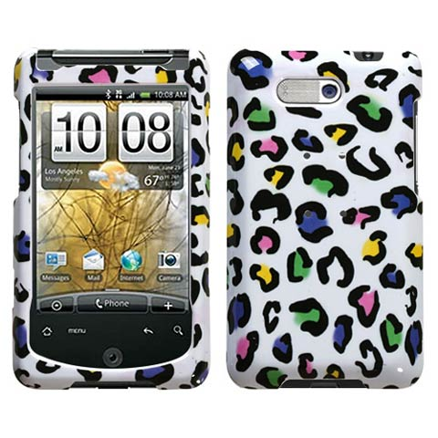 Happy Leopard Hard Case for HTC Aria