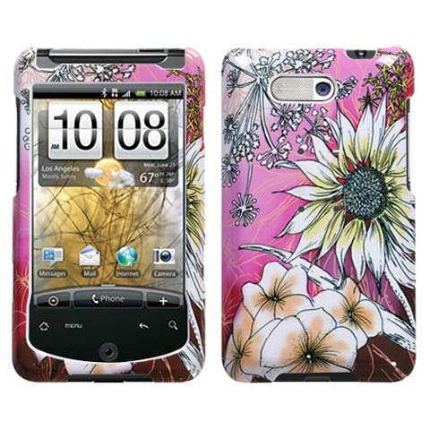 Spring Flowers Hard Case for HTC Aria