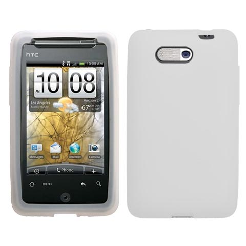 Frost White Silicone Skin Cover for HTC Aria