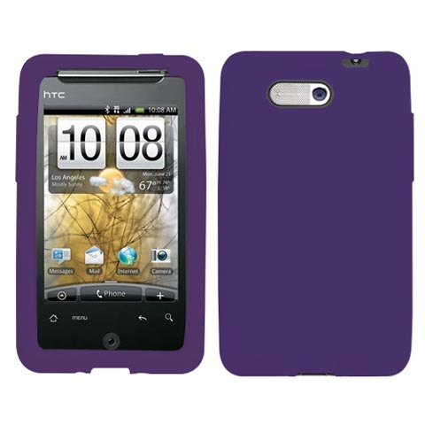 Purple Silicone Skin Cover for HTC Aria