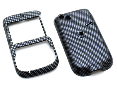 HTC DASH Snap On Faceplate Case (Carbon Fiber)