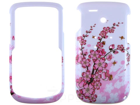 HTC Dash 3G Hard Cover Case - Pink Flowers