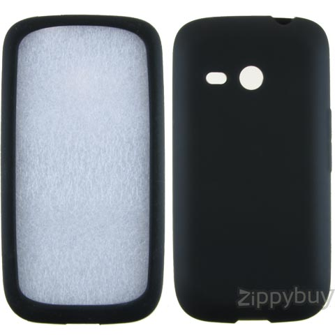 HTC Droid Eris Silicone Skin Cover - Black