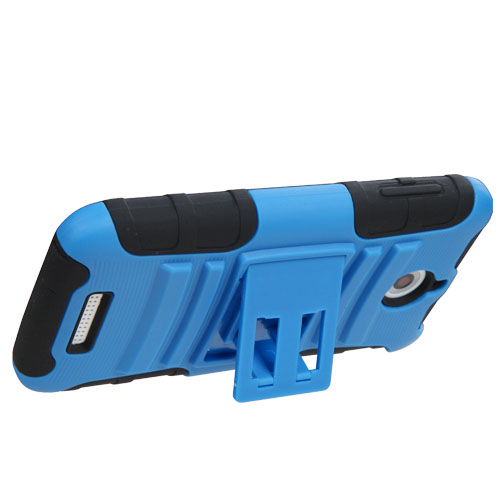 Blue Armor Dual Layer Hybrid Case for HTC Desire 510