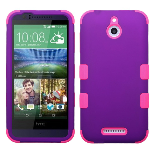 Purple and Pink Synergy Hybrid Case for HTC Desire 510
