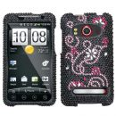 Delight Crystal Rhinestones Bling Case for HTC EVO 4G