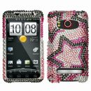 Superstar Crystal Rhinestones Bling Case for HTC EVO 4G