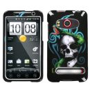 Snake Skull Hard Case for HTC EVO 4G