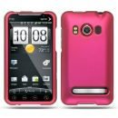 Hot Pink Rubberized Hard Case for HTC EVO 4G