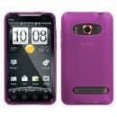 Hot Pink TPU Case for HTC EVO 4G