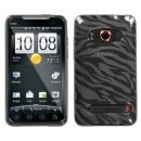 Smoke Zebra TPU Case for HTC EVO 4G