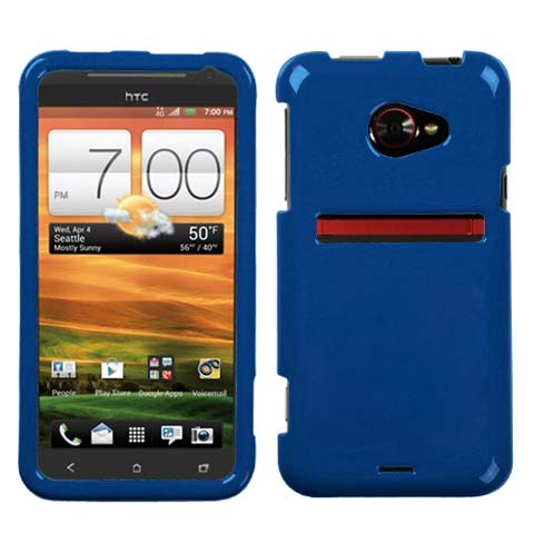 Blue Hard Case for HTC EVO 4G LTE