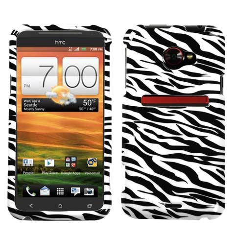 Zebra Hard Case for HTC EVO 4G LTE
