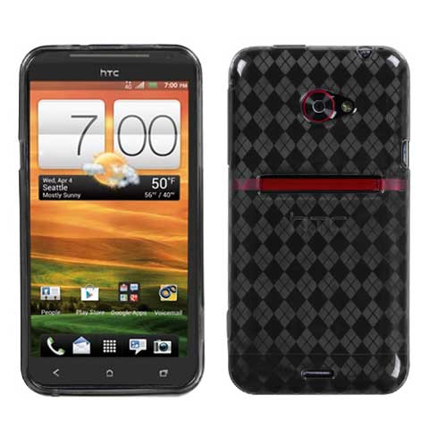 Smoke Argyle TPU Case for HTC EVO 4G LTE
