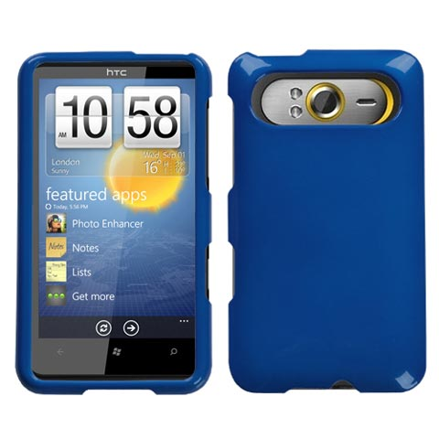 Blue Hard Case for HTC HD7