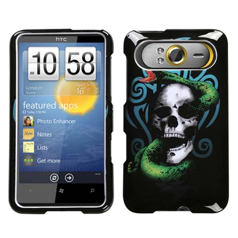 Snake Skull Hard Case for HTC HD7